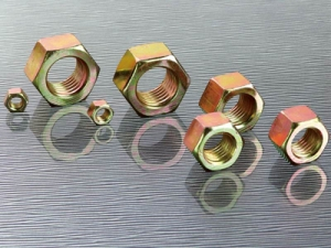 Hex Nut With Rainbow Colour